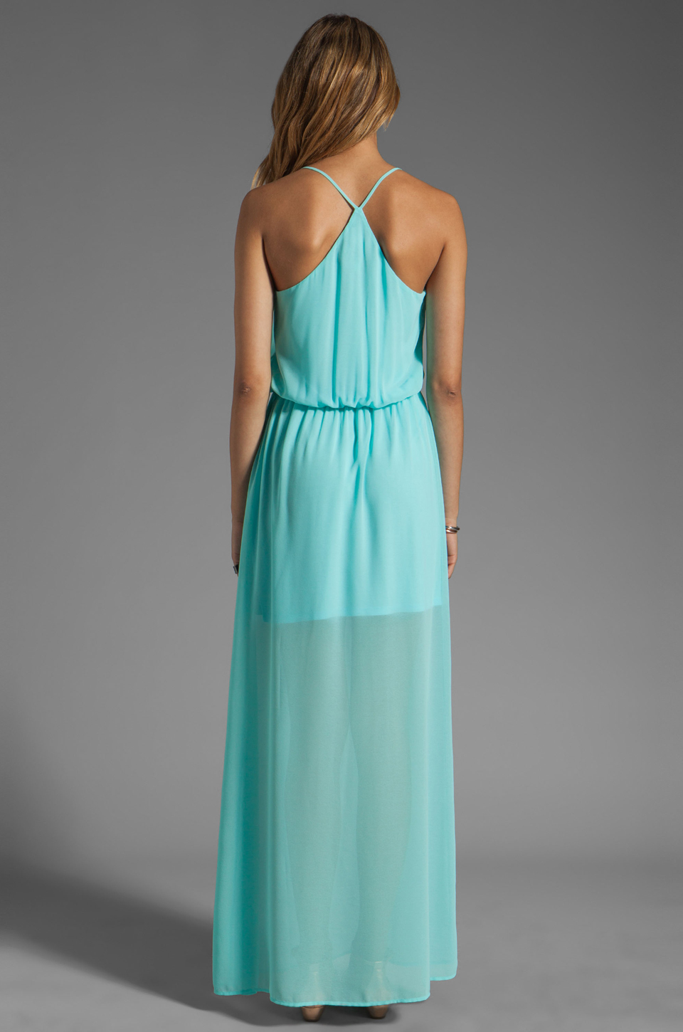 Rory Beca Hess Drape Gown in Ice