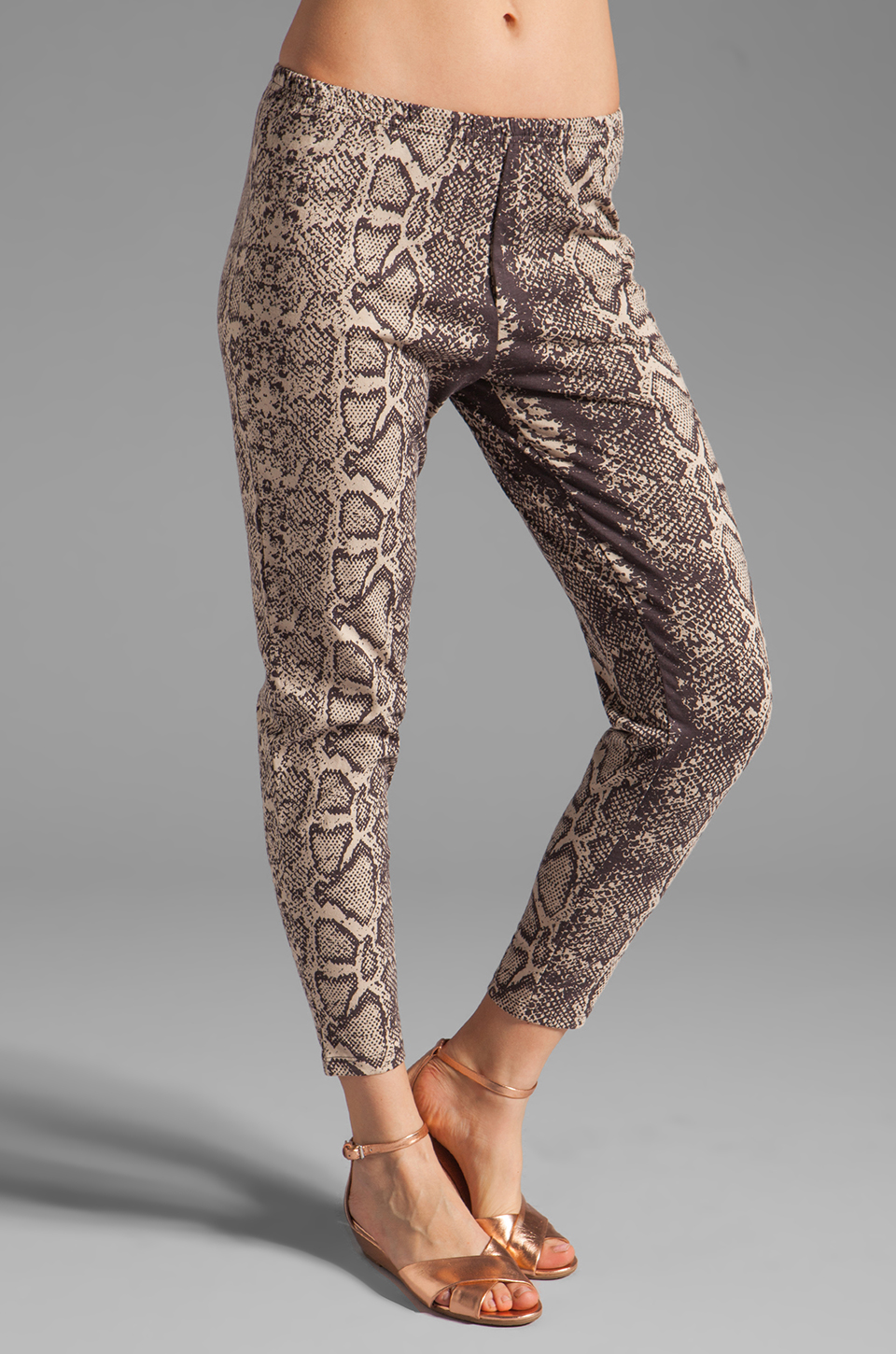 RVCA Rider Snake Eyes Pant in Shale