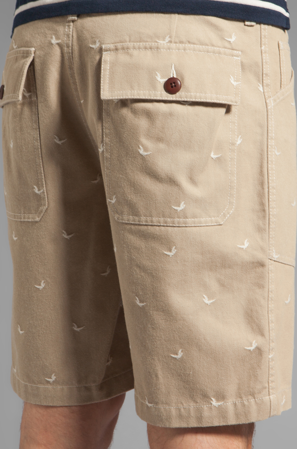 Steven Alan Matt Short in Khaki Marin
