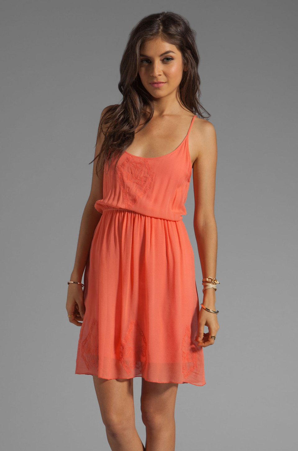 Sanctuary Sand Beneath Your Toes Dress in Tequila Sunrise