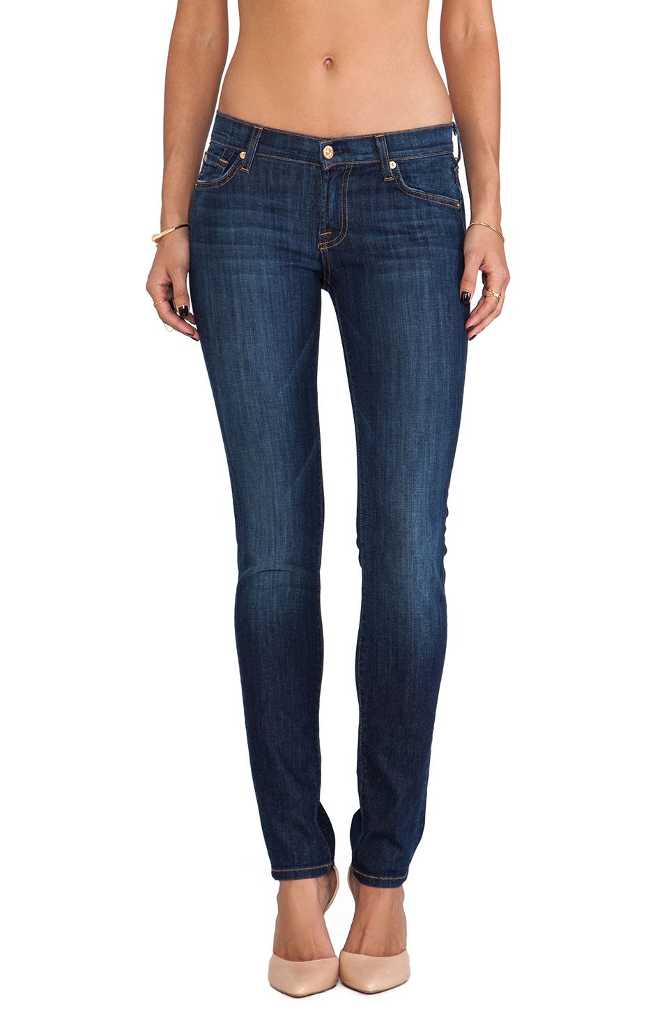 7 For All Mankind Roxanne in Spring Night