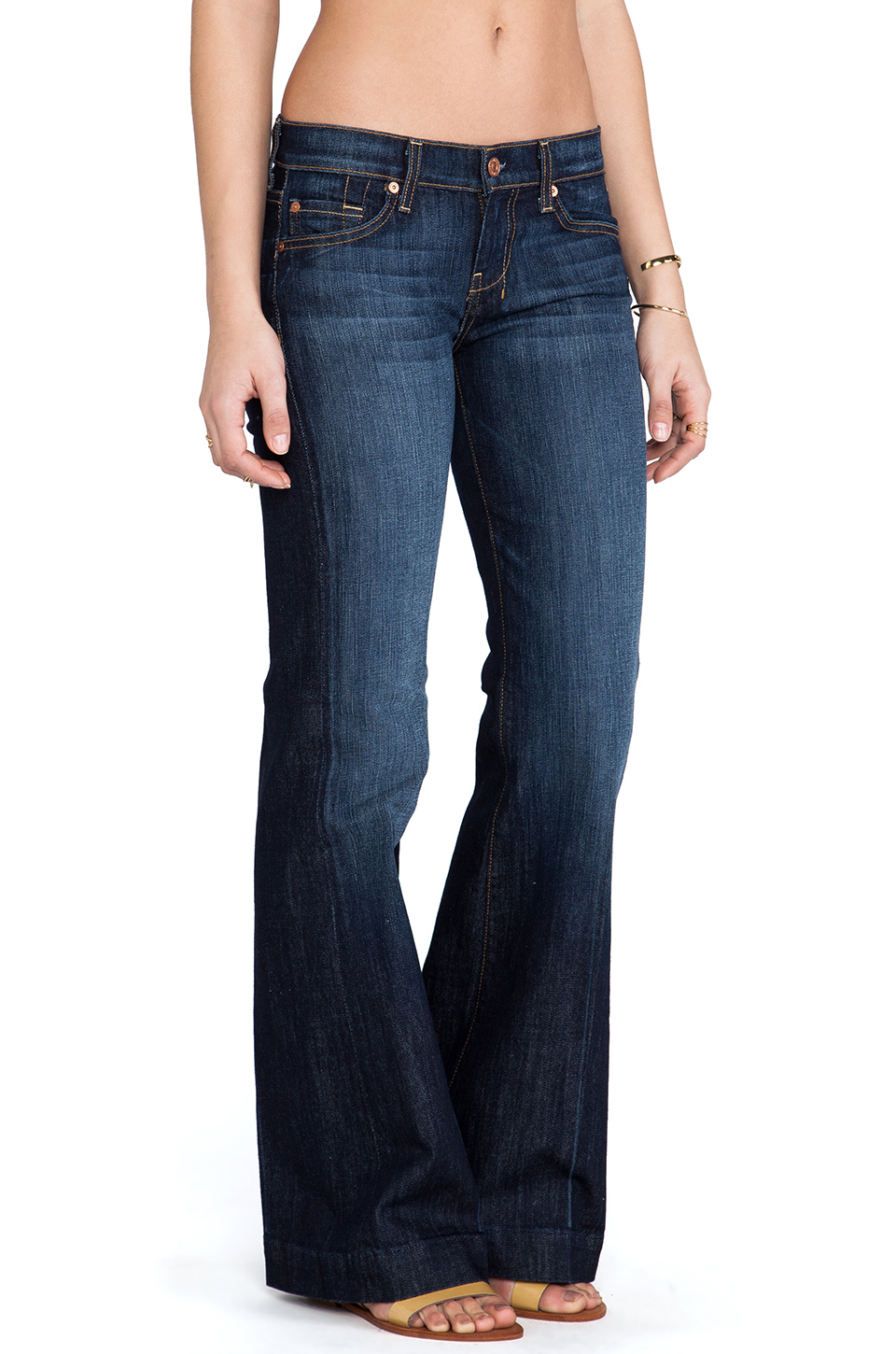7 For All Mankind Midnight New York Dark
