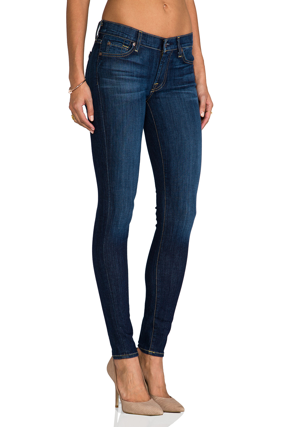 7 For All Mankind The Skinny in Nouveau New York Dark