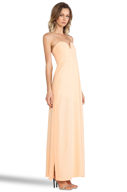 Shona Joy The Wanderer Maxi Dress in Apricot