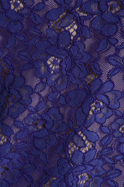 Shoshanna Lace Lisa Shift Dress in Amethyst