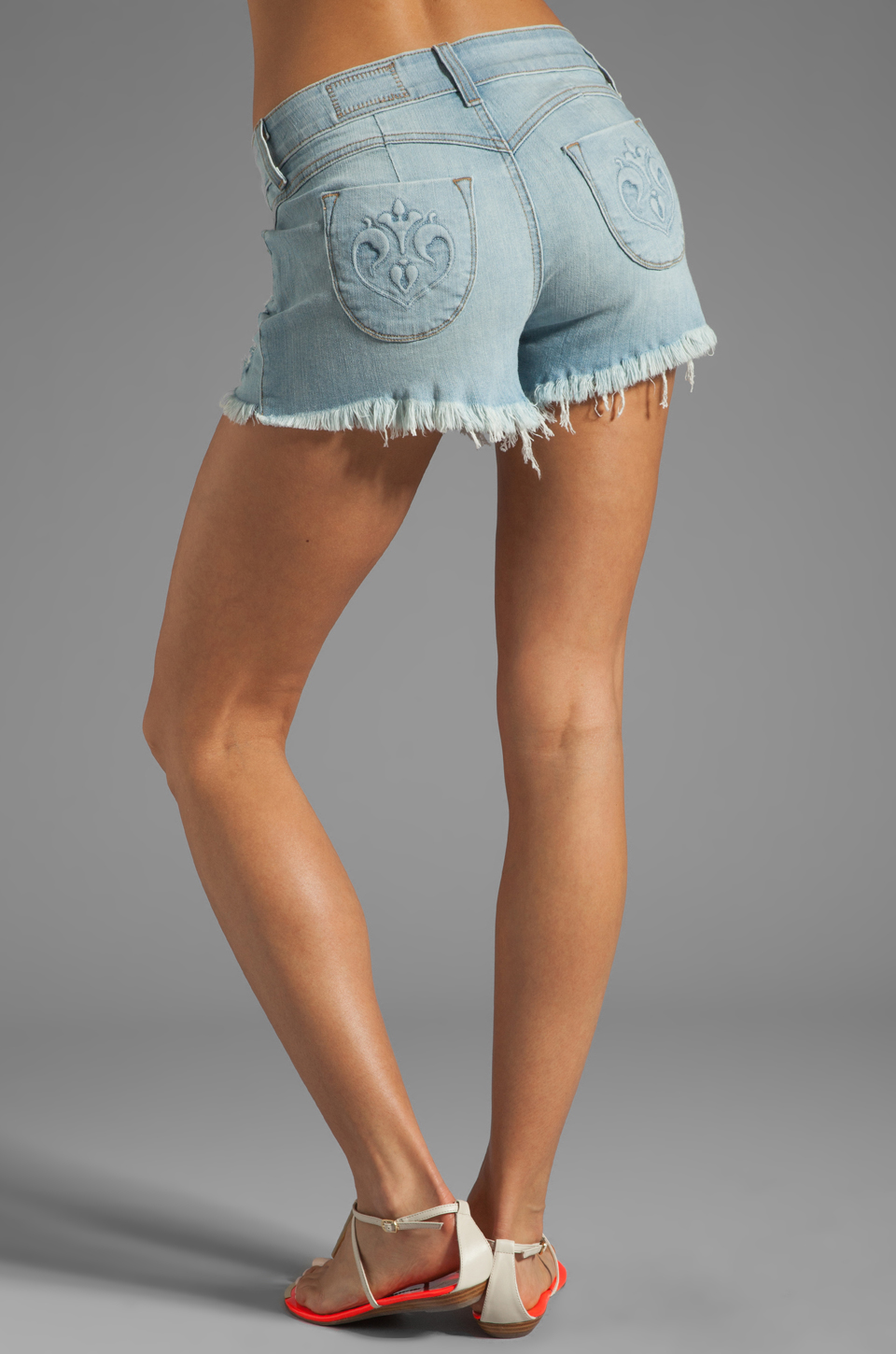 Siwy Britt High Waisted Shorts in Careless