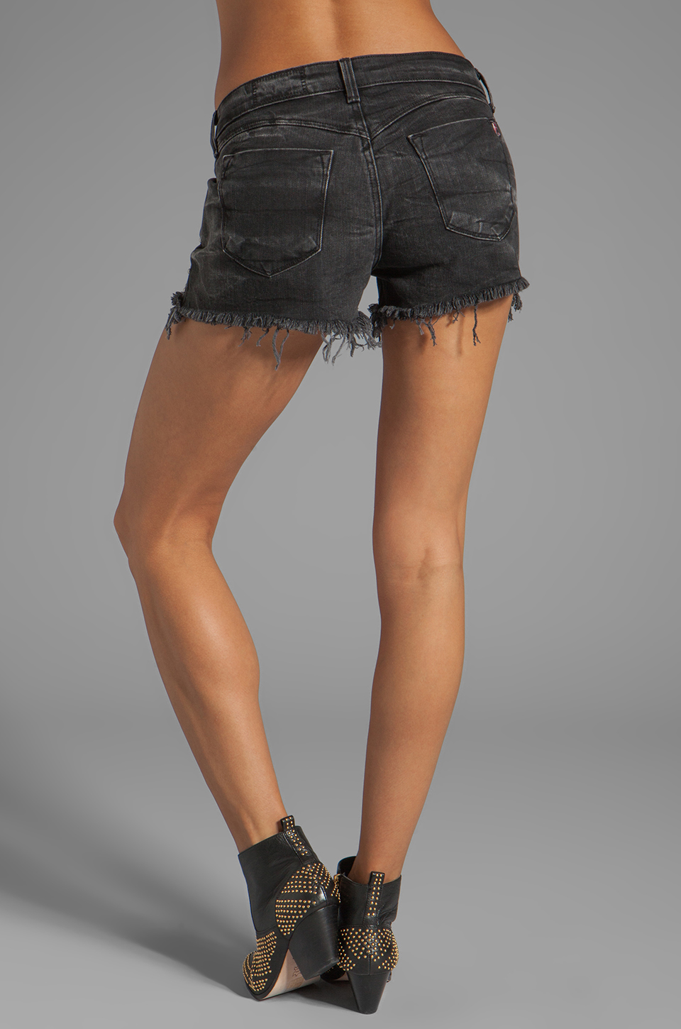 Siwy Alia Cut-Off Shorts in Renegade