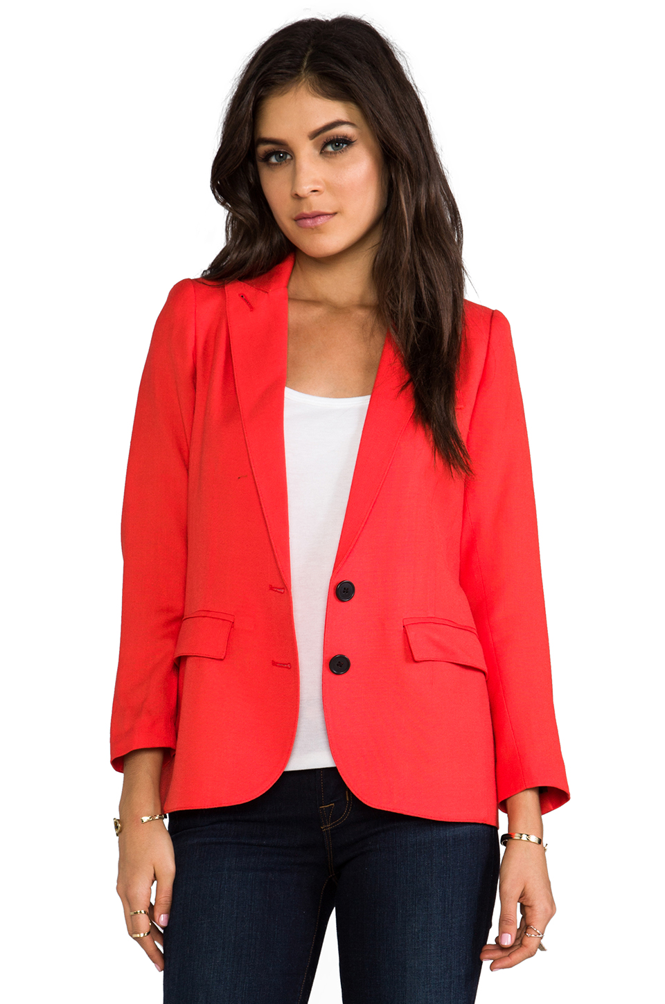 Smythe Boy Blazer in Red at Revolve Clothing
