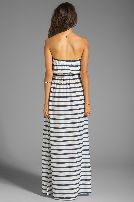 Soft Joie Cade Stripe Dress in Peacoat/Porcelain