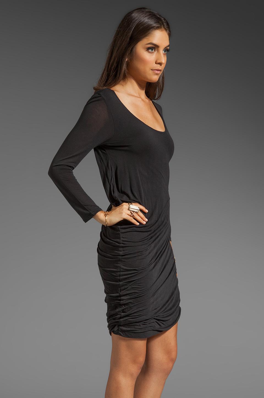 Soft Joie Avrele Drape Dress in Caviar