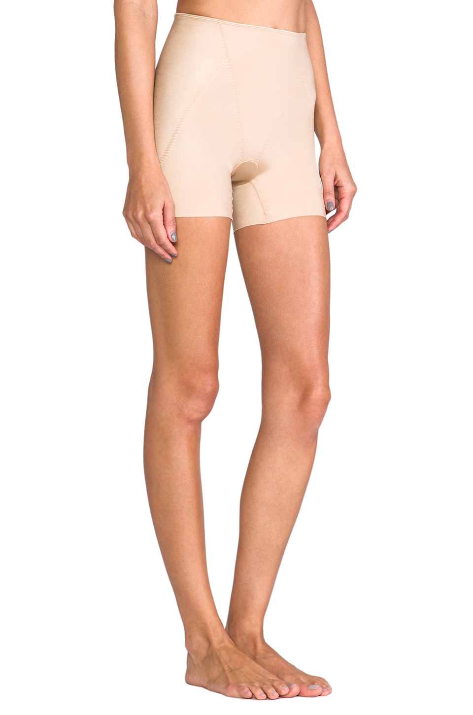 SPANX Slimplicity Booty Booster Short in Nude