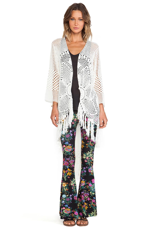 How To Spell Crochet : Spell & The Gypsy Collective Mandala Crochet Coat in Ivory REVOLVE