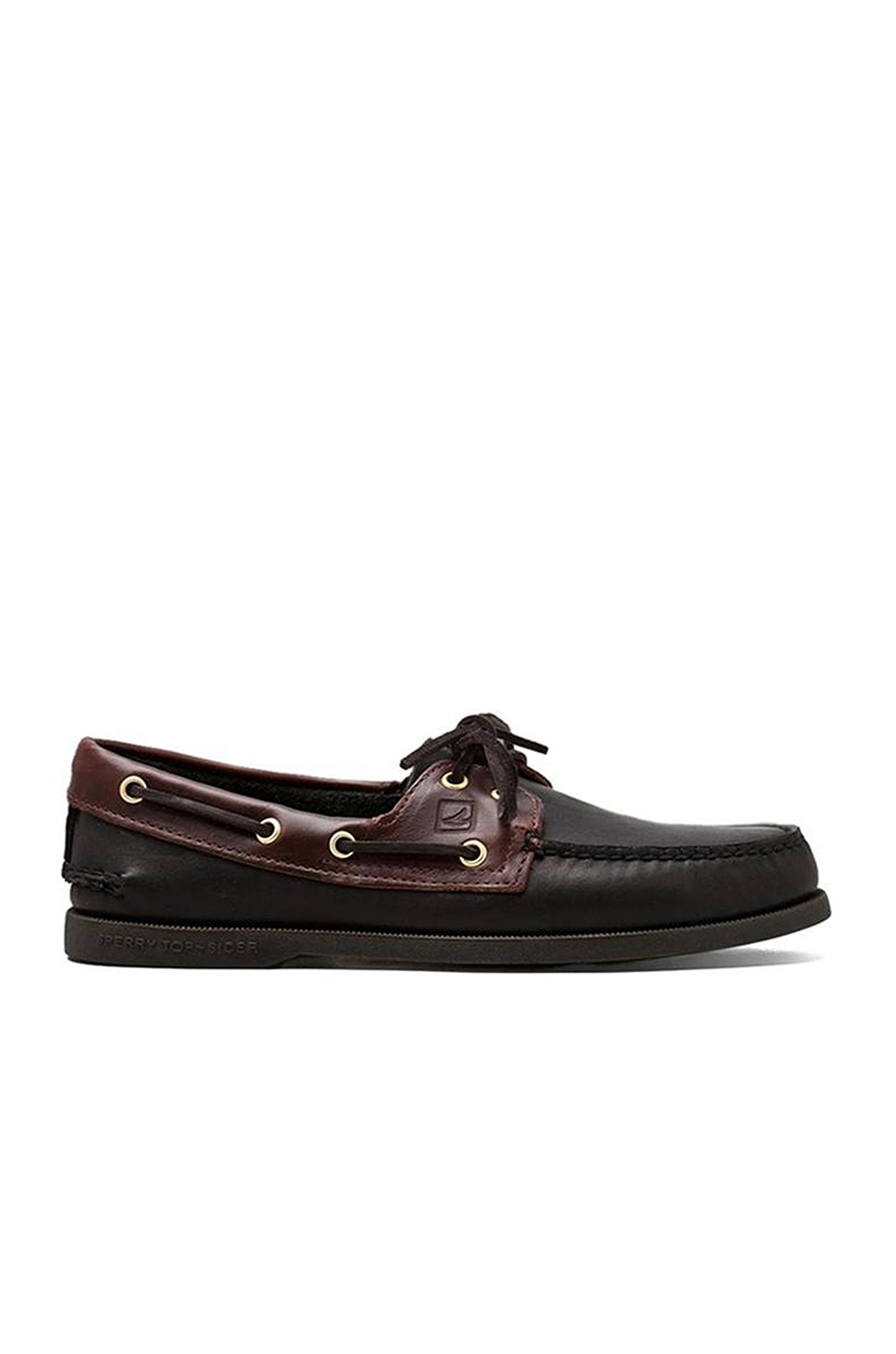 Sperry Top-Sider A/O in Black/Amaretto