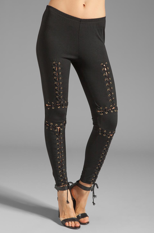 Style Stalker Robocop Leggings in Black