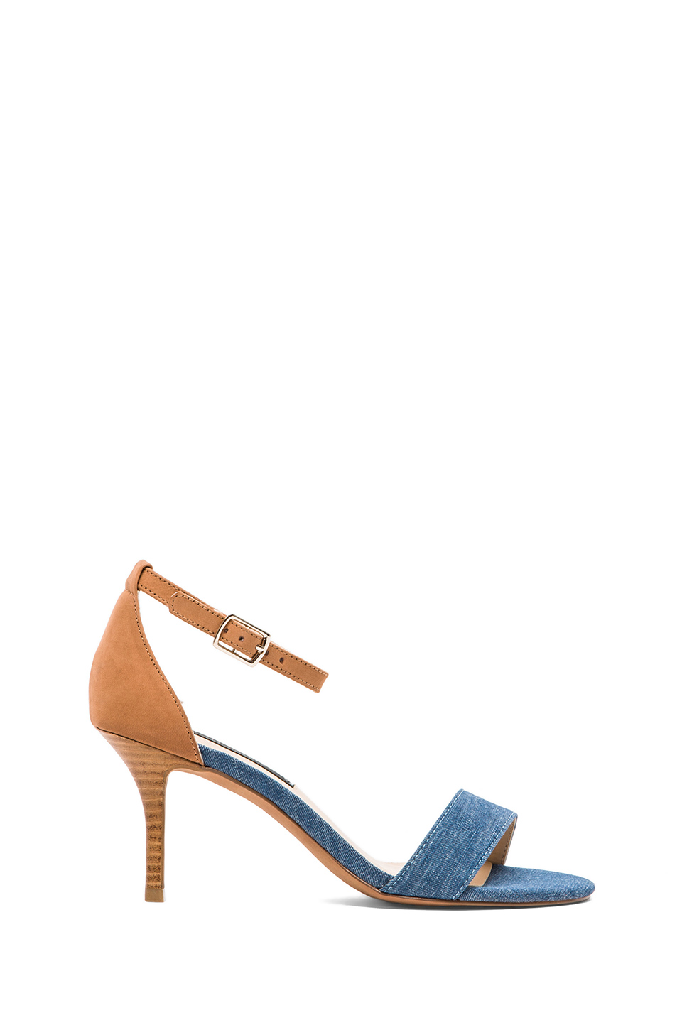 Steven Vienna Heel in Denim