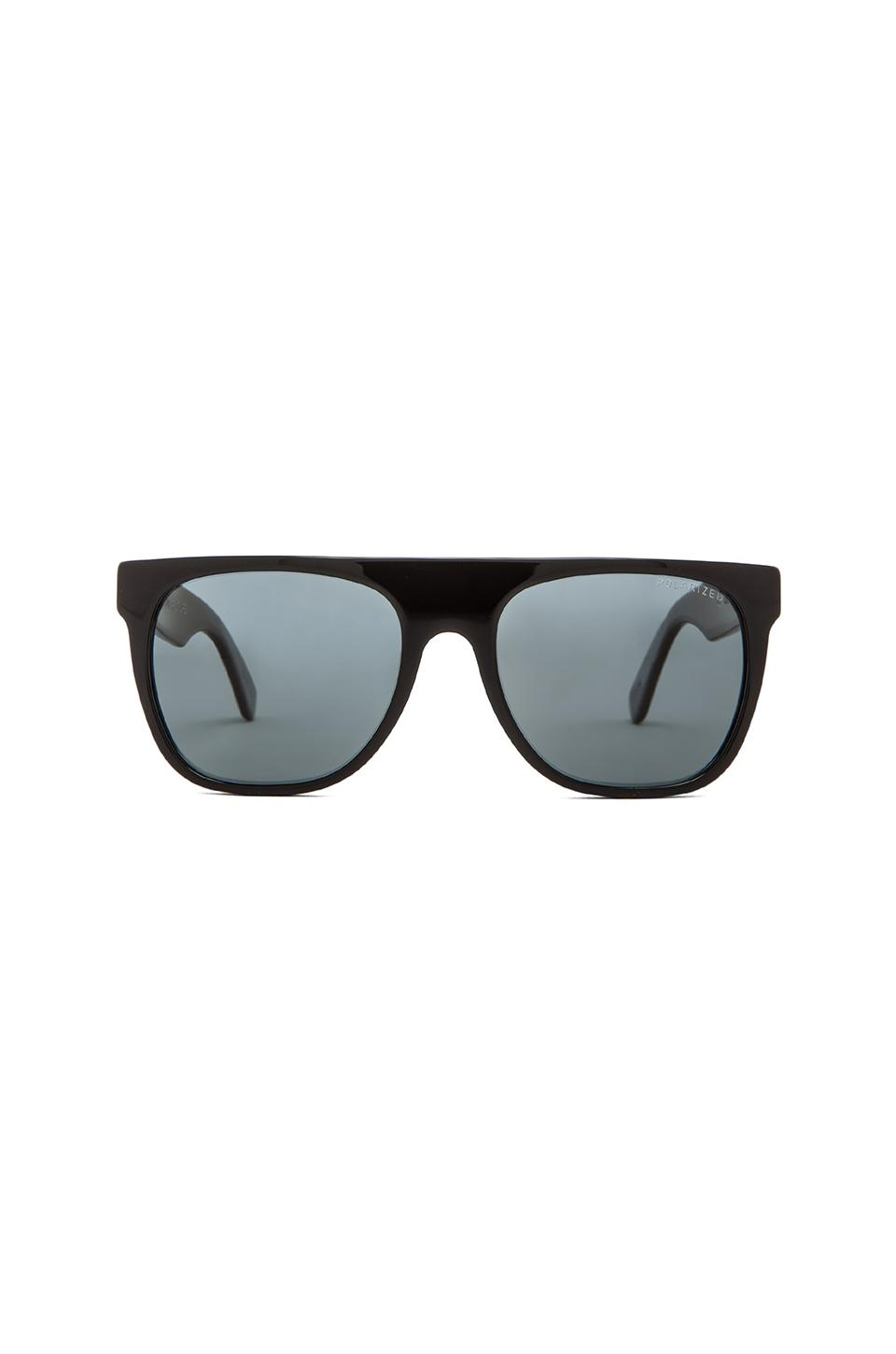 Super Flat Top Polarized in Black