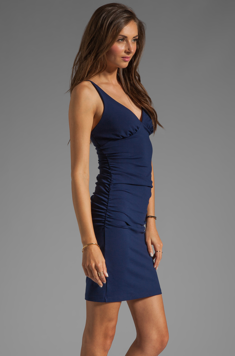 Susana Monaco Tank Dress in Deep Sea