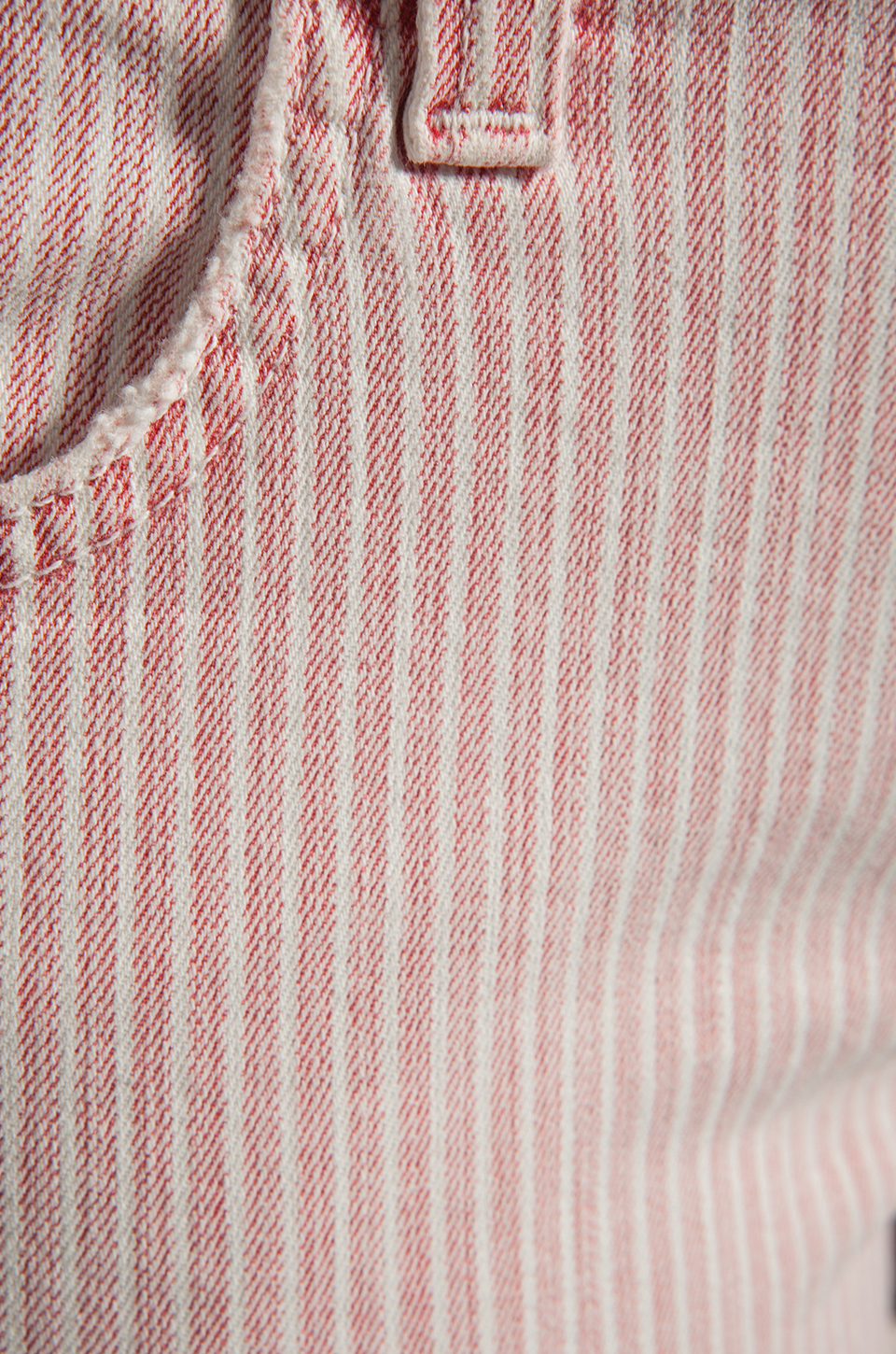 TEXTILE Elizabeth and James Dixon Short in Red Conductor Stripe