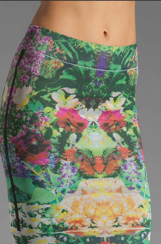 Thatcher Minimalist Tube Skirt in Botanical Garden