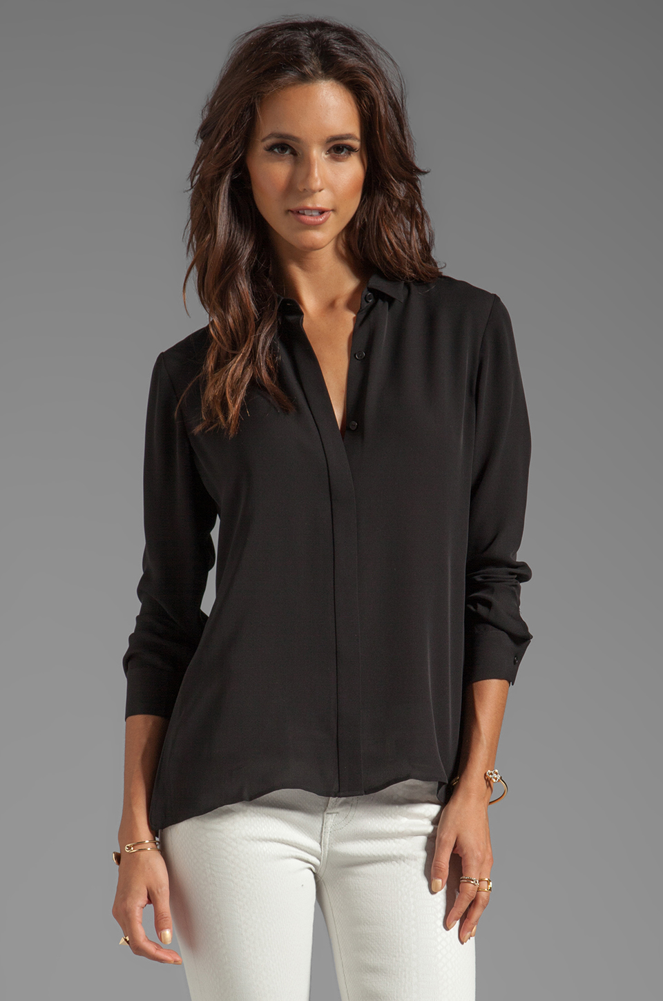 Theory Blouse On Sale 100