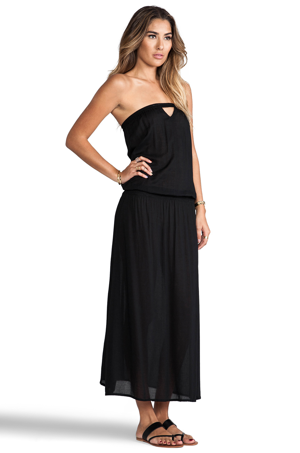 Tiare Hawaii Ibiza Dress in Black