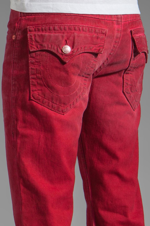 True Religion Ricky Straight Leg in Red