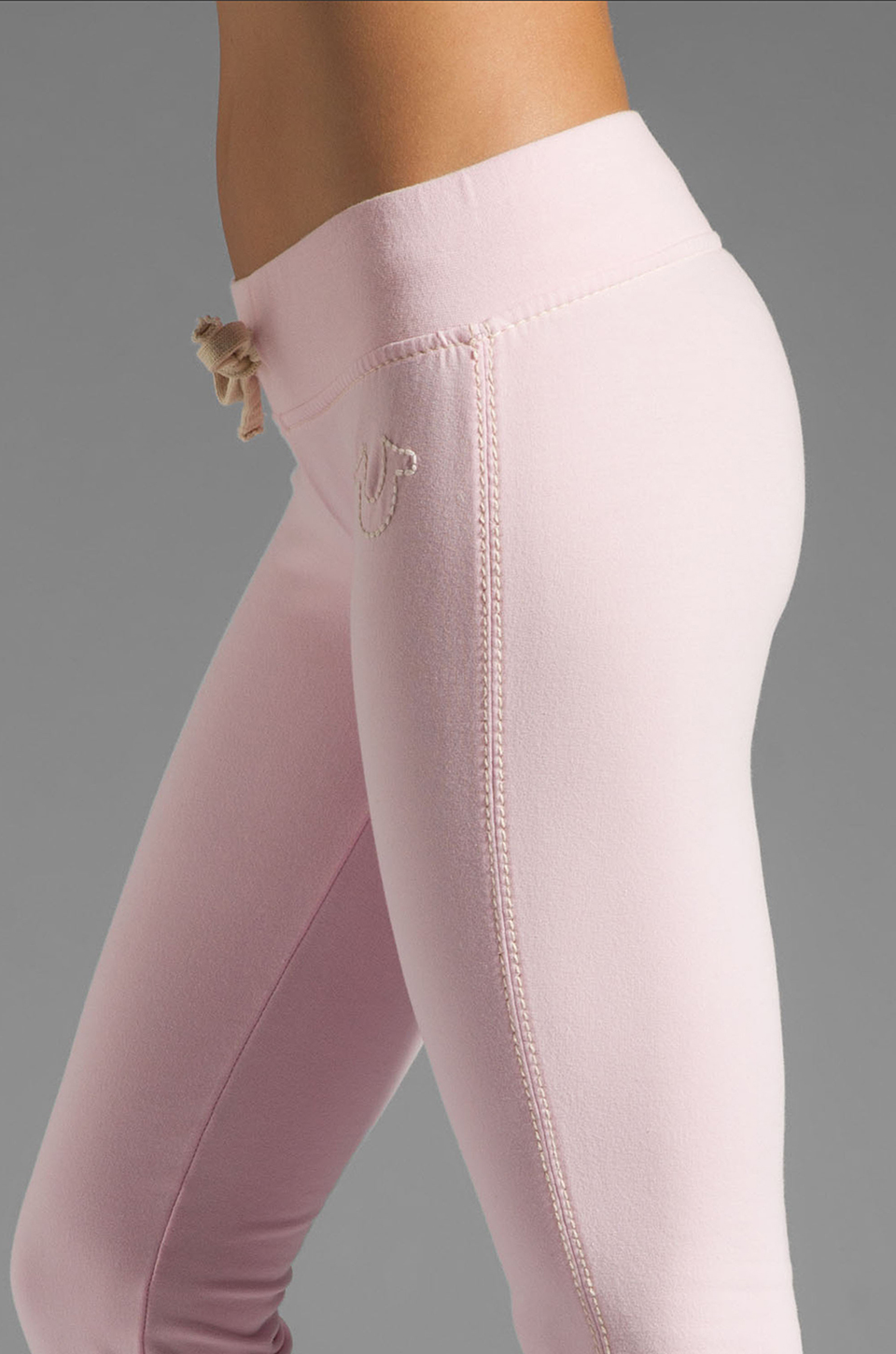 True Religion Marissa Pant in Baby Pink