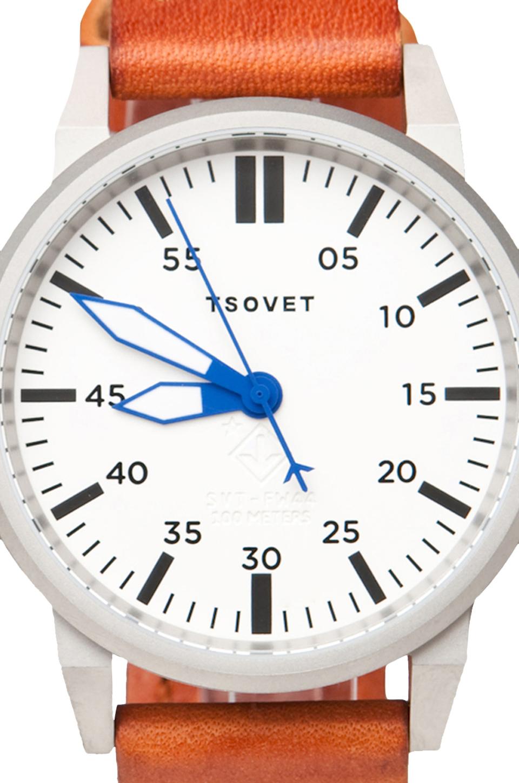 Tsovet SVT-FW44 Dial in Rust w/ Blue
