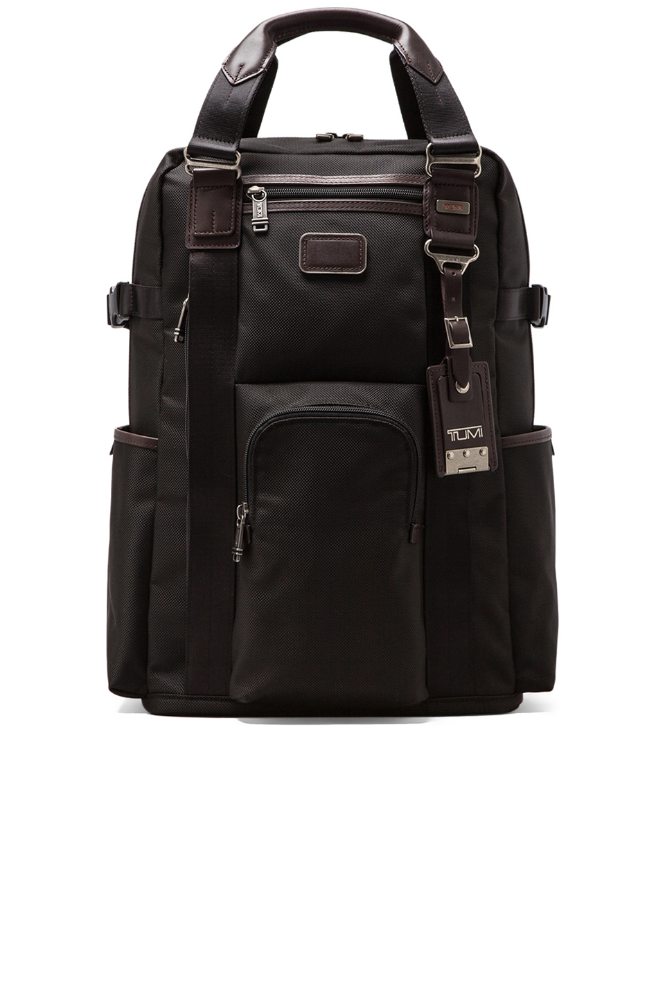 Tumi Alpha Bravo Ballistic Nylon Lejeune Backpack Tote in Hickory