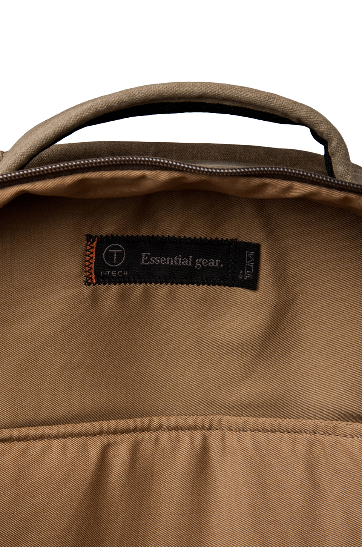 Tumi T-Tech Melville Zip Top Brief Pack in Khaki