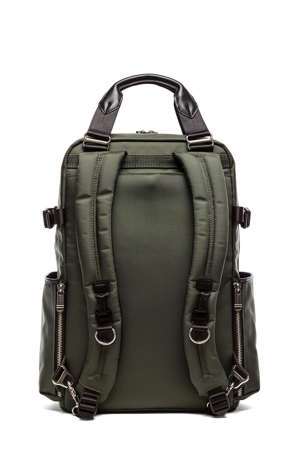 Tumi Alpha Bravo Lejeune Backpack Tote in Spruce