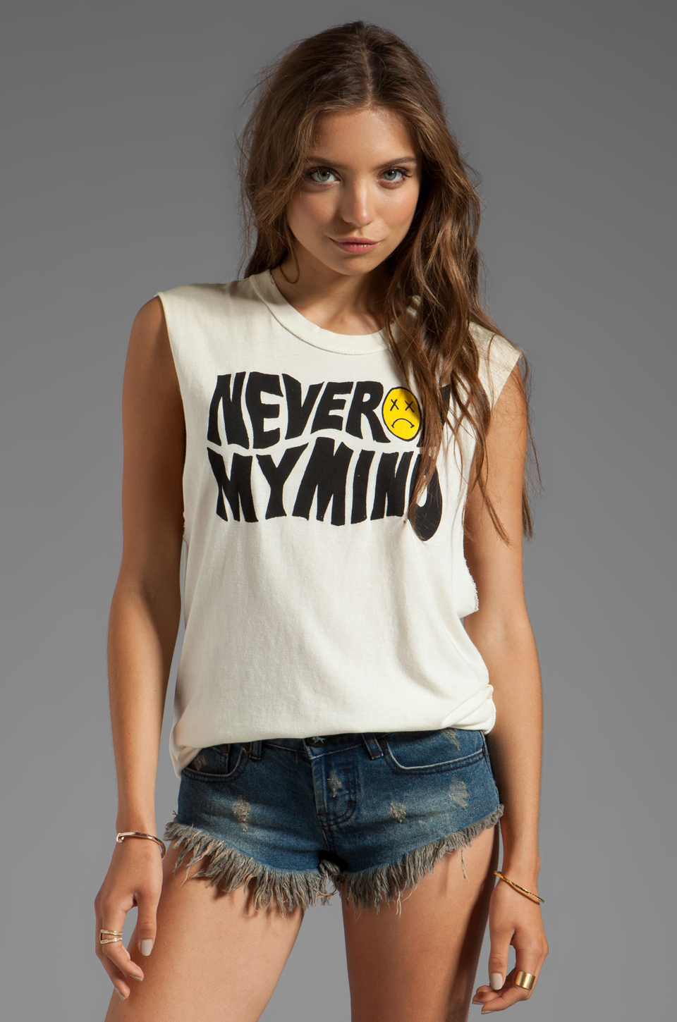 UNIF Never On Tank in White