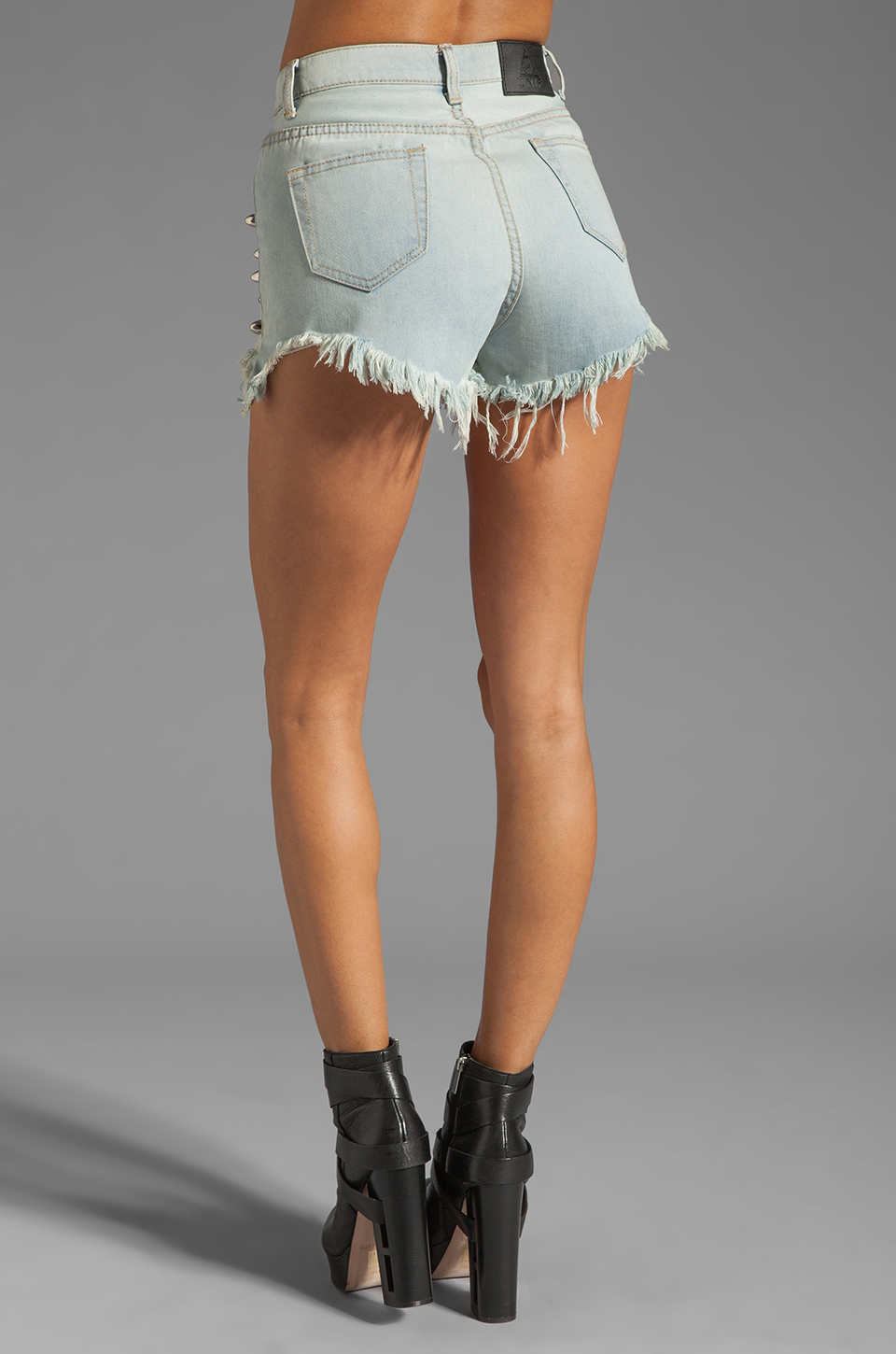 UNIF Mosh Short in Blue