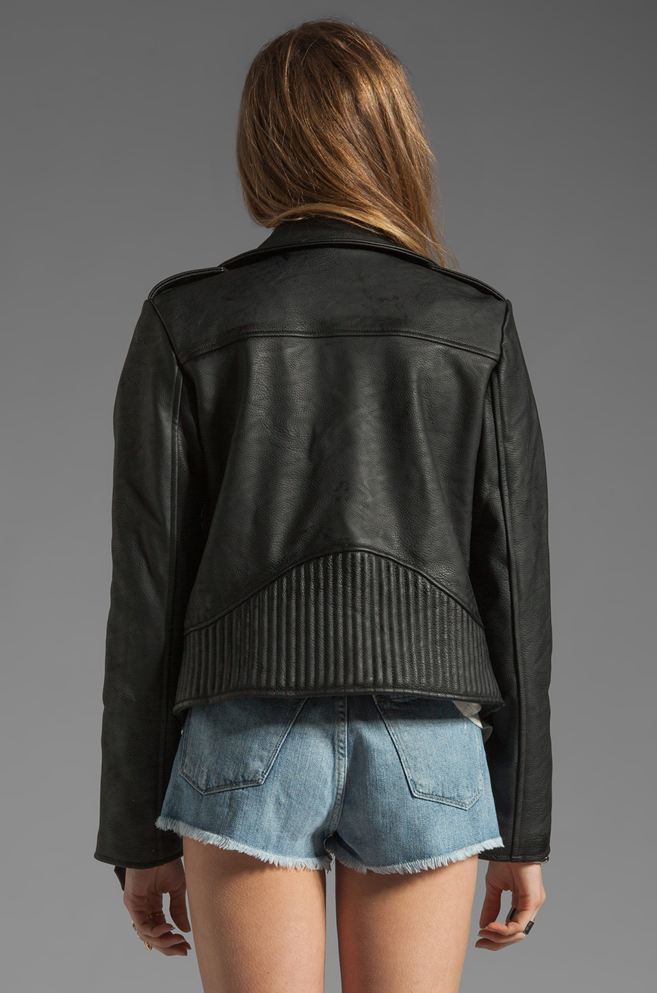 UNIF Metal Moto Jacket in Black