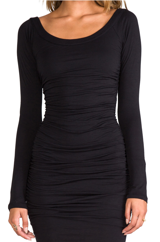 Velvet by Graham & Spencer Gauzy Whisper Jessamine Dress in Black