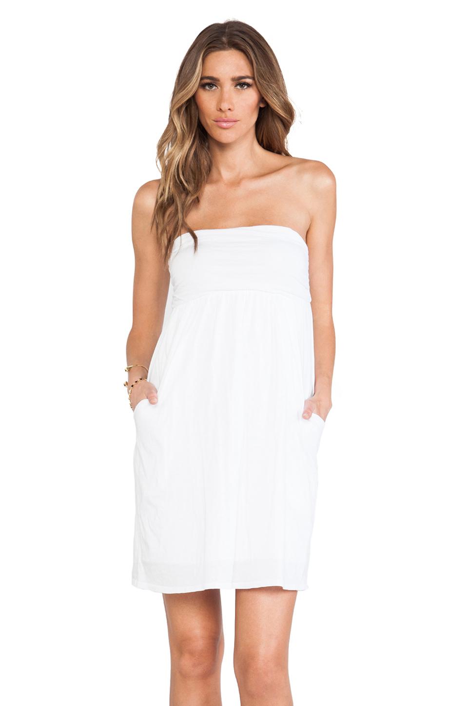 Velvet by Graham & Spencer Gauzy Whisper Alia Dress in White