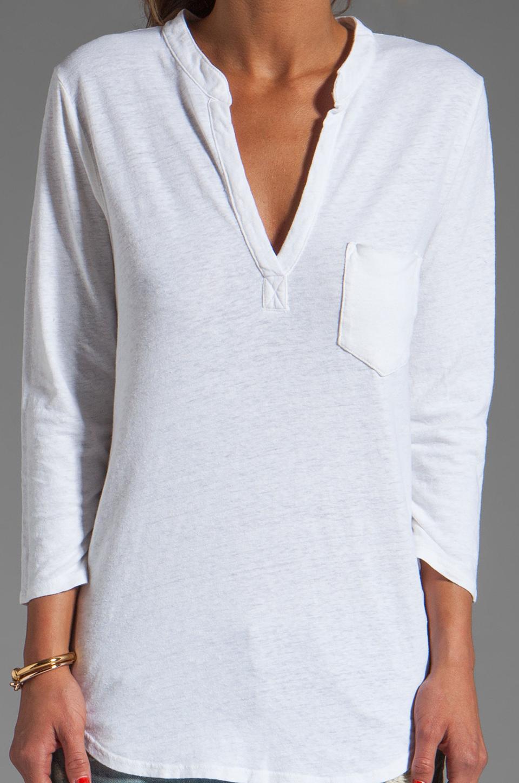 Velvet by Graham & Spencer Filia Organic Top in White