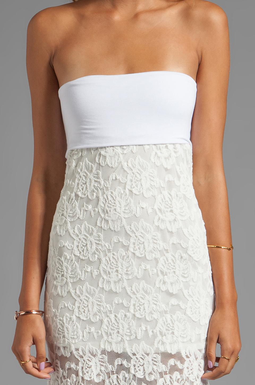 VOOM by Joy Han Kylie Strapless Dress in White
