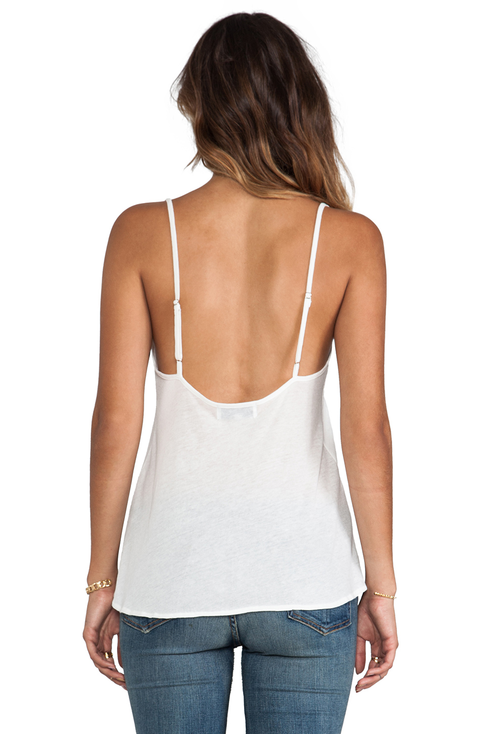 Wildfox Couture Pastel America Paradise Cami in Bright Cloud