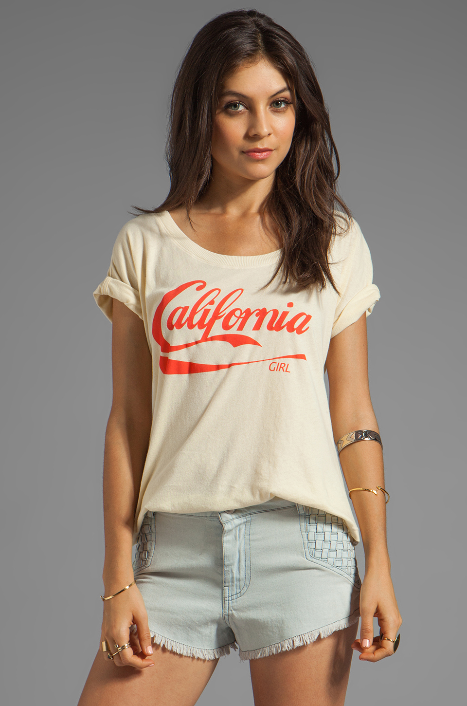 Wildfox Couture C.A. Pop Tee in Banana Split