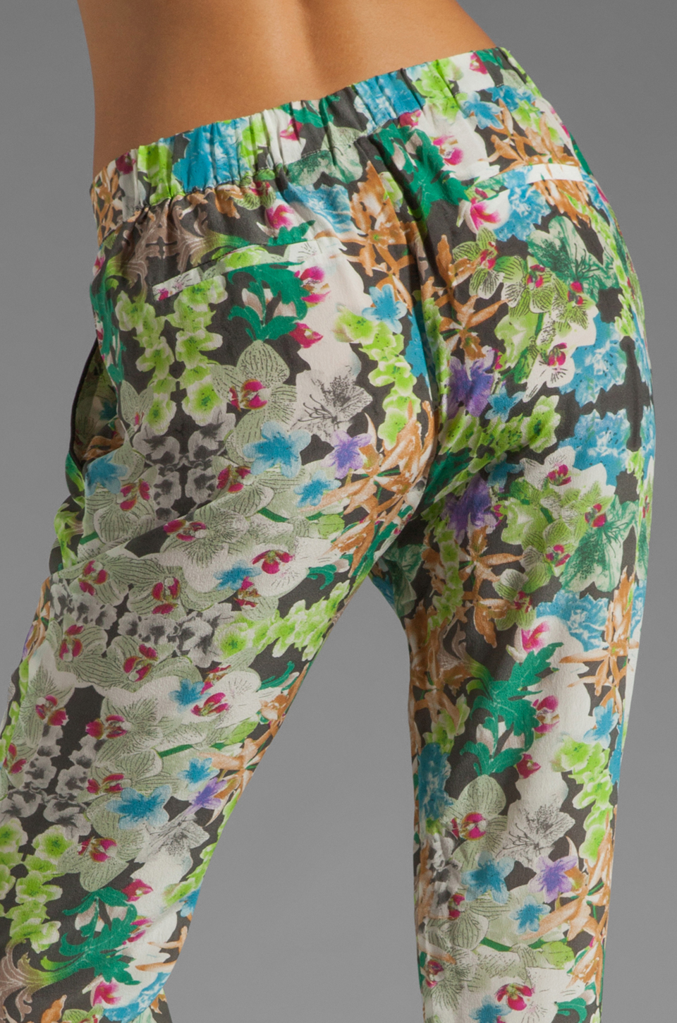 Wish Origami Pants in Orchid