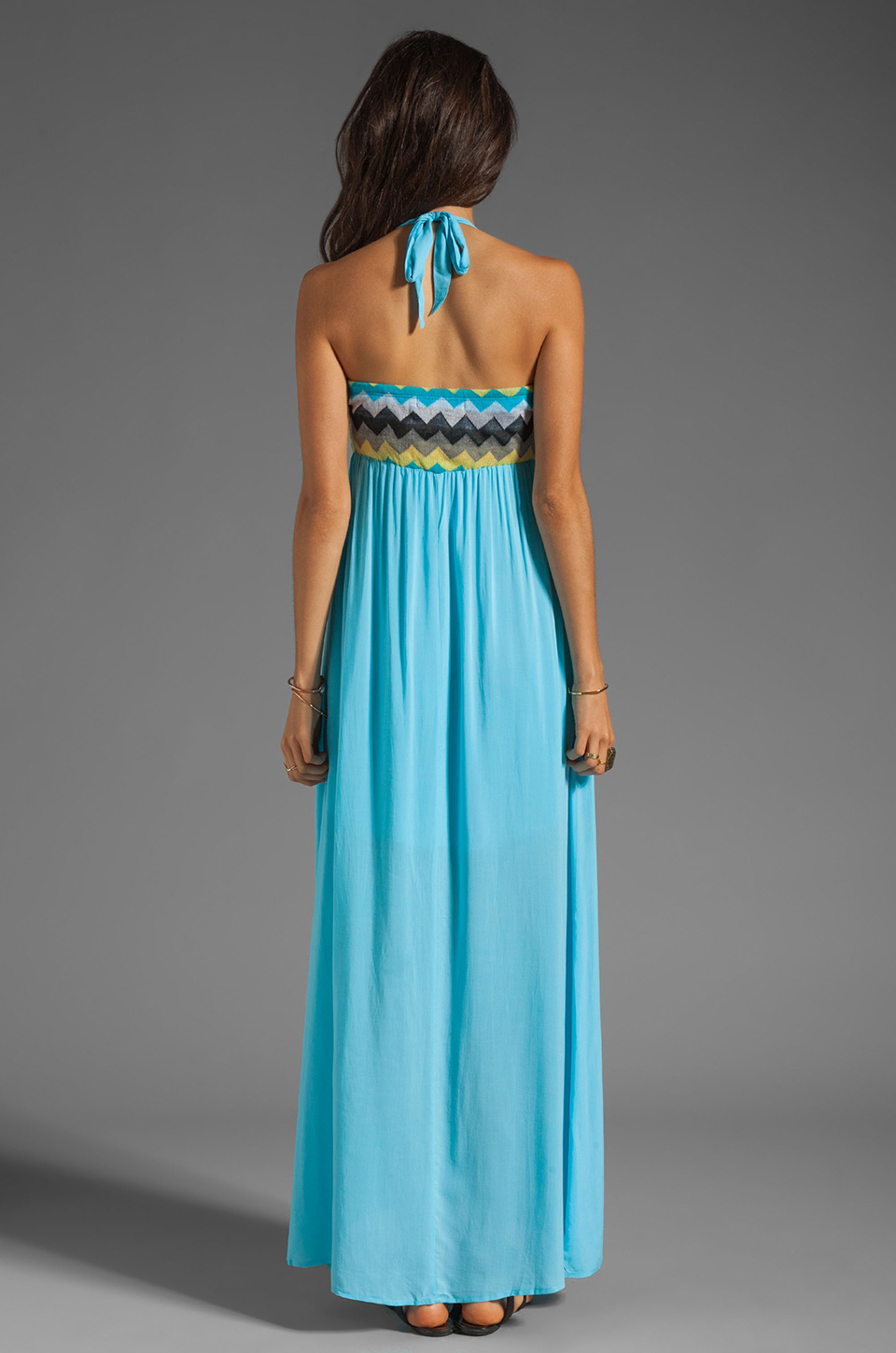 WOODLEIGH Keaton Maxi in Turquoise