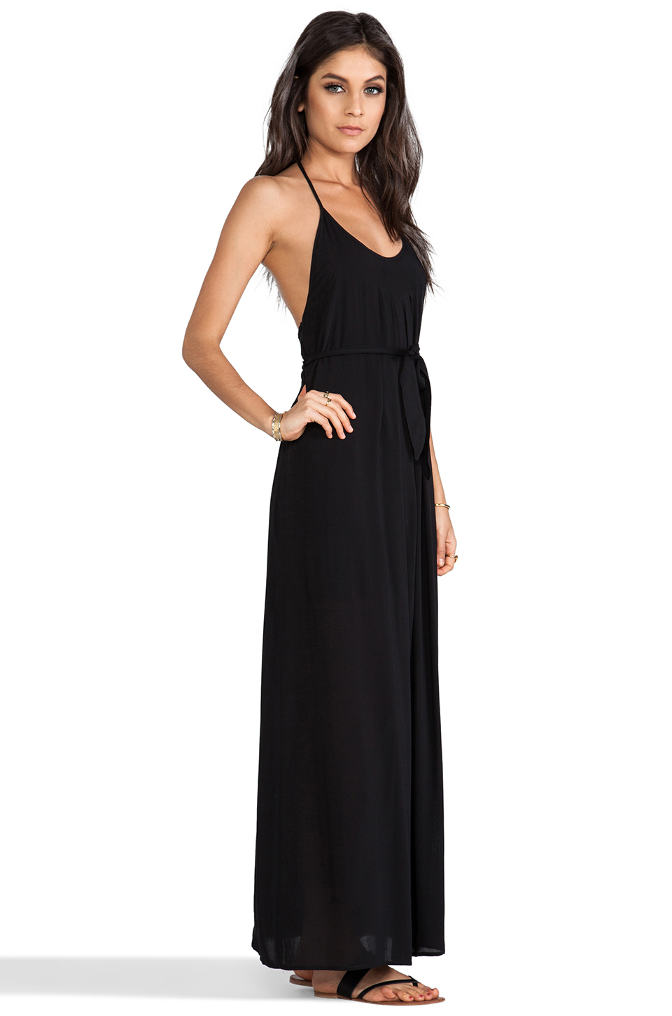WOODLEIGH EXCLUSIVE Veve Maxi Dress in Black