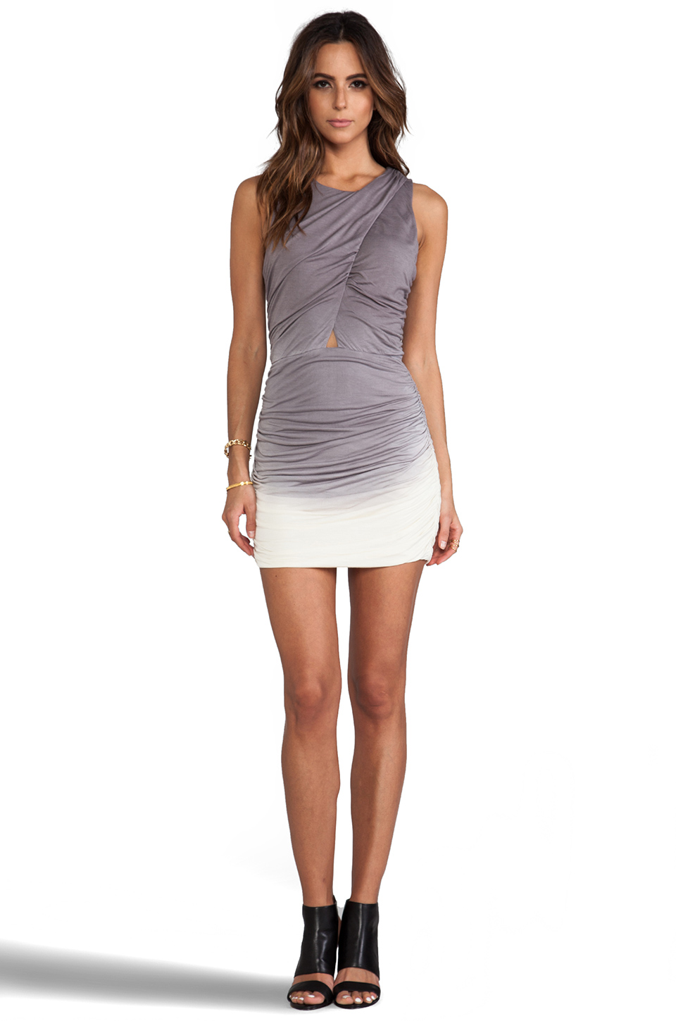 Young, Fabulous & Broke Heloise Mini in Grey Ombre