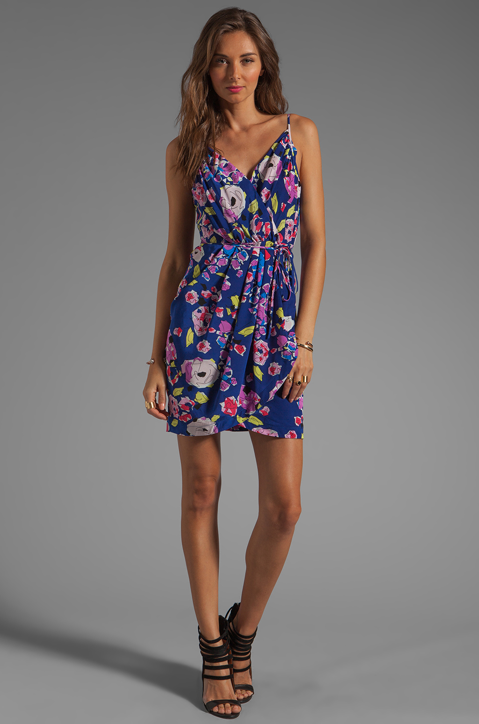 Yumi Kim Jayne Dress in Navy Kira Floral