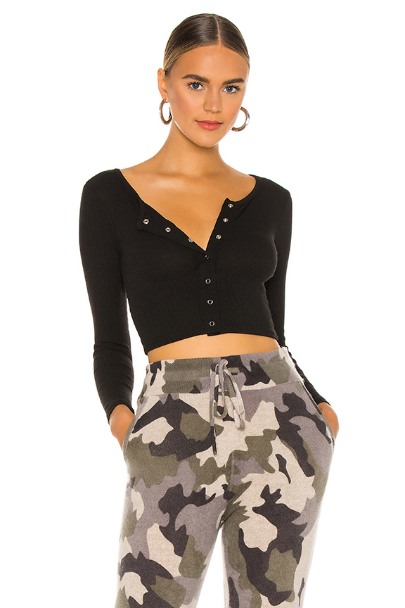 SUPERDOWN TESS CROP TOP